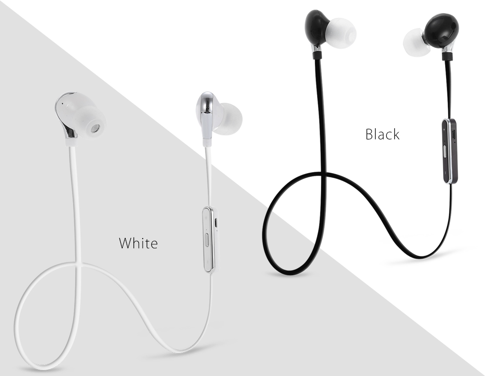 S360S Wireless Bluetooth 4.1 Music Sport Earbuds Earphones with Mic Hands-free Calls