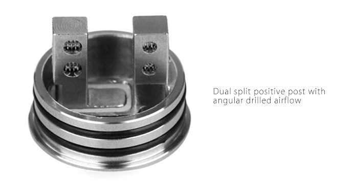 Original Wotofo Lush Plus RDA Atomizer 22mm with Airflow Control / Rebuildable Dripping
