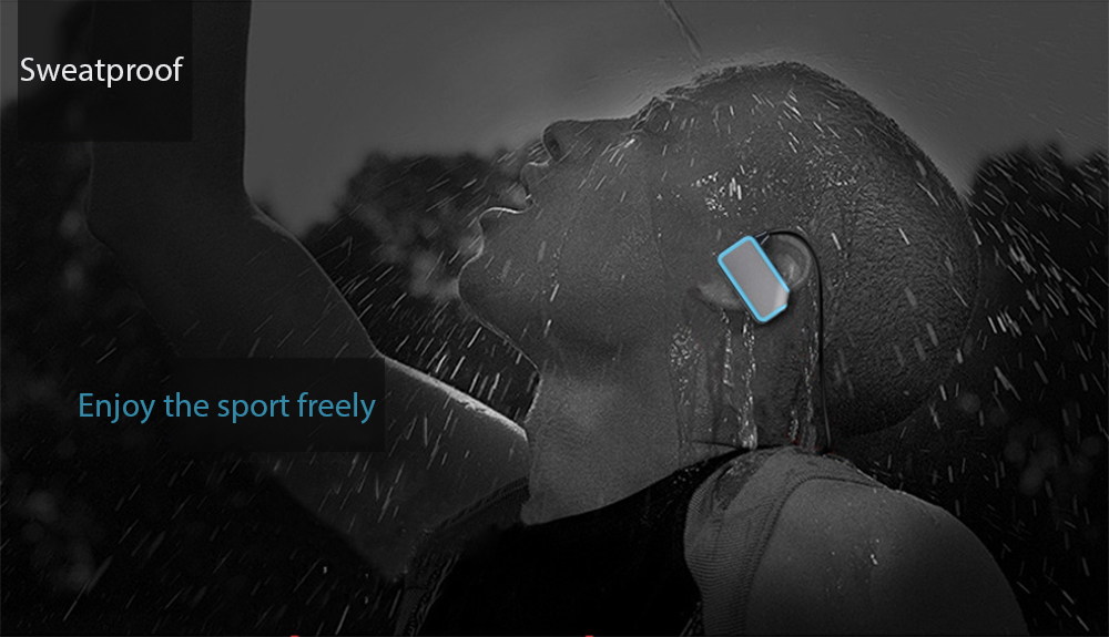 ONN X3 Bluetooth V4.2 Sport Earbuds Music Player Built-in 8GB TF Card Support Bass Adjustment