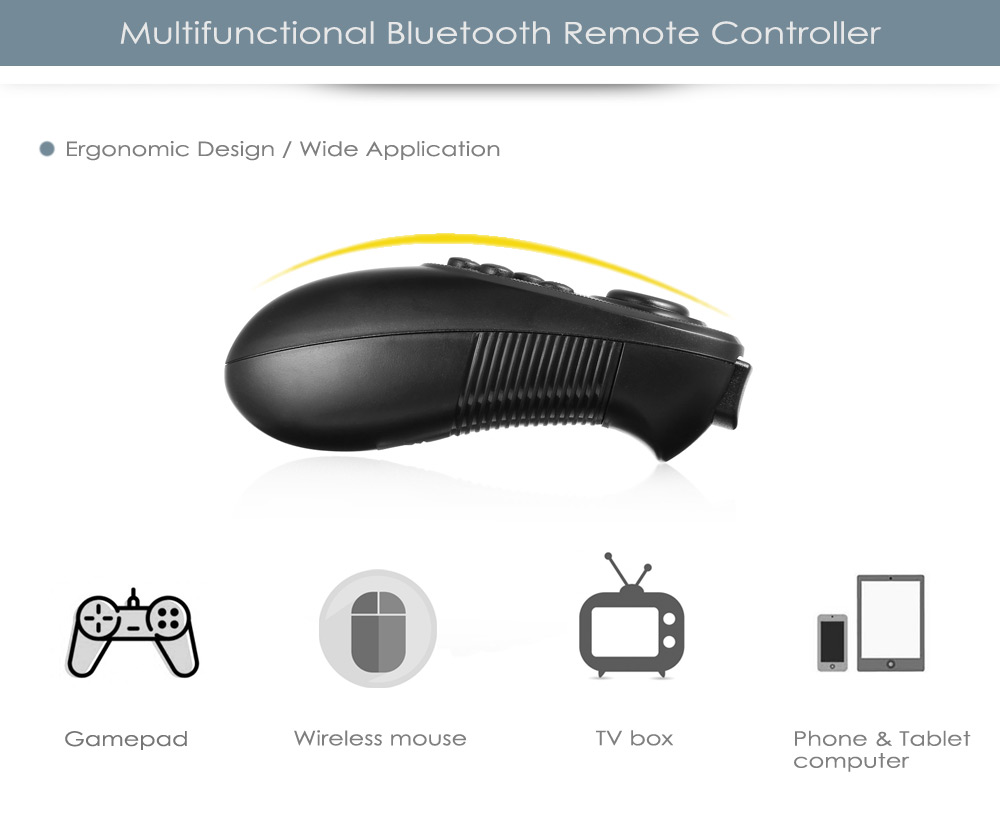 Multifunctional Bluetooth Remote Controller Gamepad for 3D VR Smart Phones
