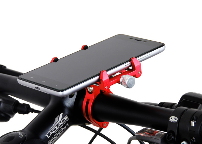 GUB G-86 Bicycle Cellphone Bracket 6063 Aluminum Alloy Made