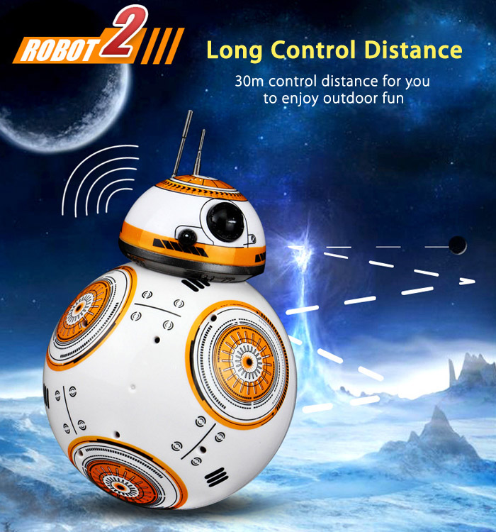 2.4G RC Robot with 30m Long Control Distance / High-tech Magnetic Suspension Technology