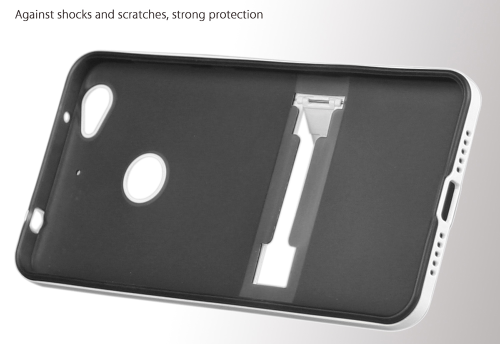 Hat - Prince TPU Protective Back Cover Case for Letv 1S with Phone Stand Holder