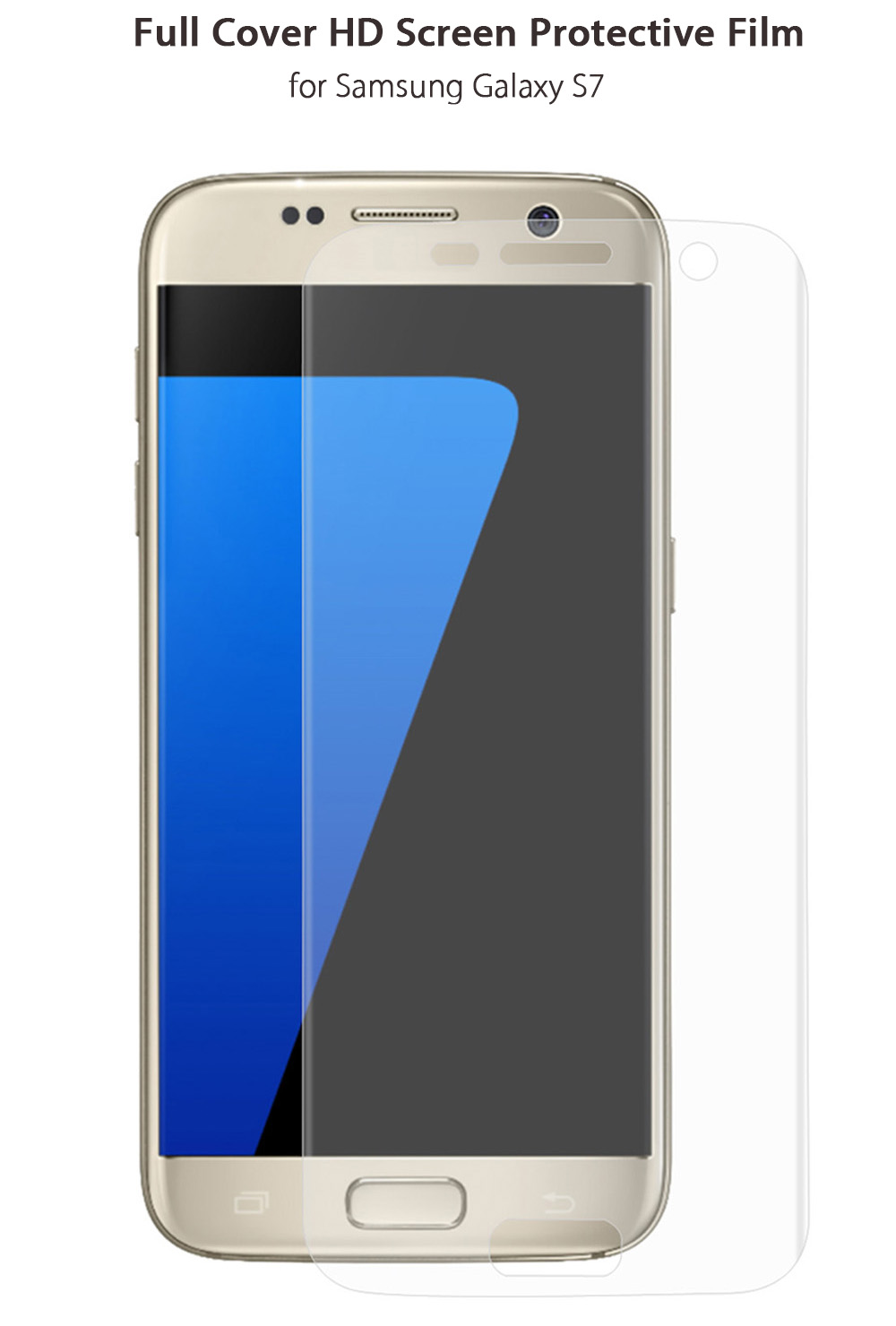 Hat - Prince Screen Protector for Samsung Galaxy S7 Clear HD Full Cover Film
