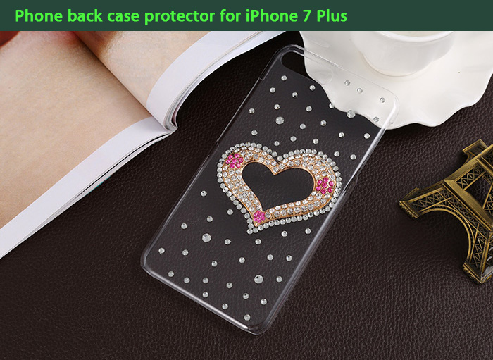 Diamond Design Protective Phone Back Case for iPhone 7 Plus with Cute Pattern