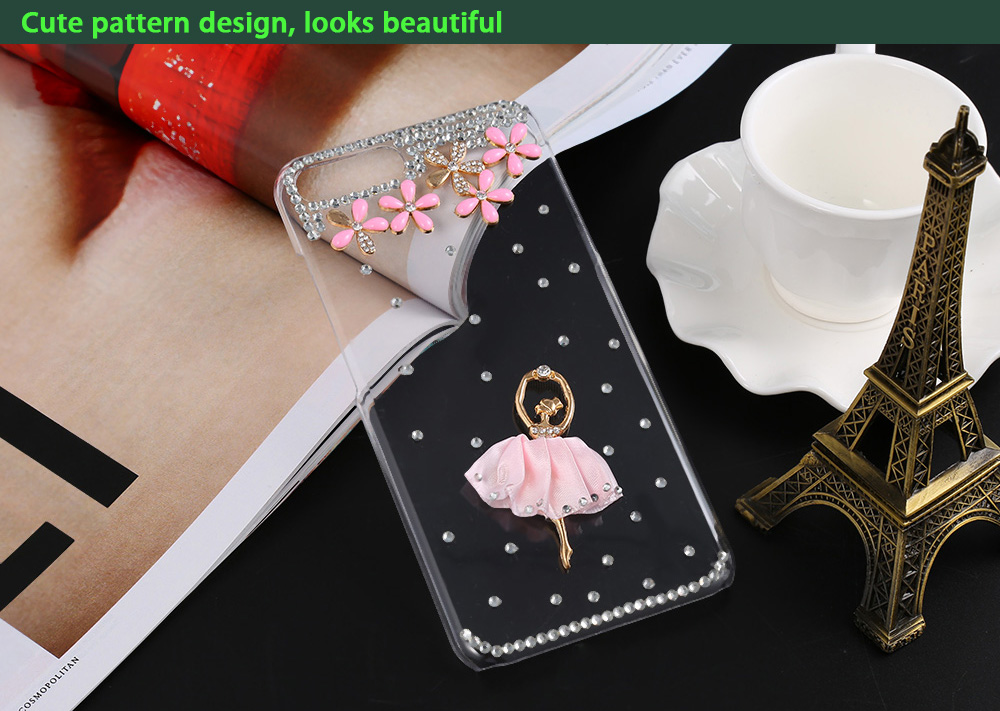 Diamond Style Phone Back Case Protector for iPhone 7 Plus with Cute Pattern