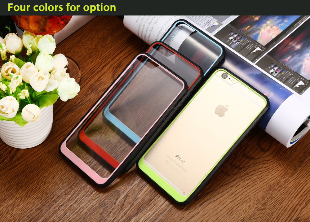 Contrast Color Design Protective Phone Back Case for iPhone 6 / 6S