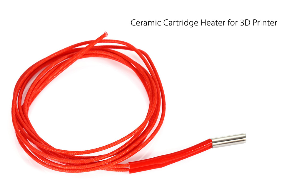 12V 40W Ceramic Cartridge Heater for 3D Printer
