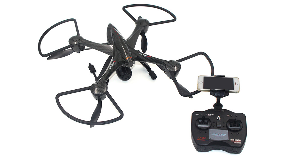 FEILUN FX122C6 HD Camera 2.4G 6-axis Gyro WiFi FPV RC Quadcopter
