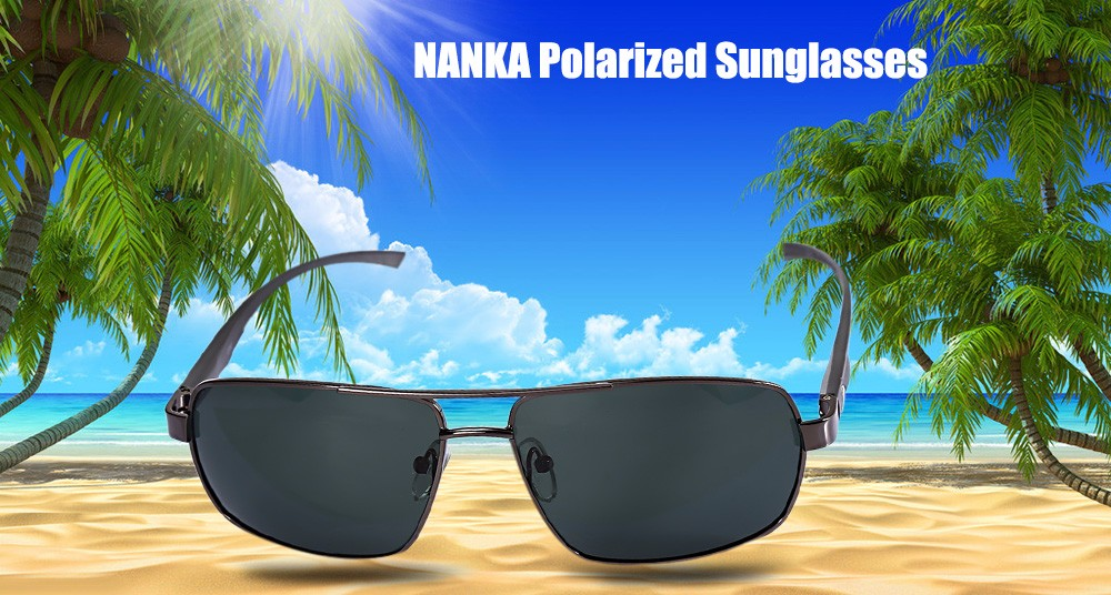 NANKA 8783 Male Polarized Sunglasses with TAC Coating