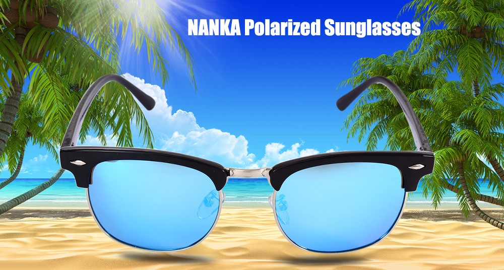 NANKA 8801 Female Polarized Sunglasses with TAC Coating