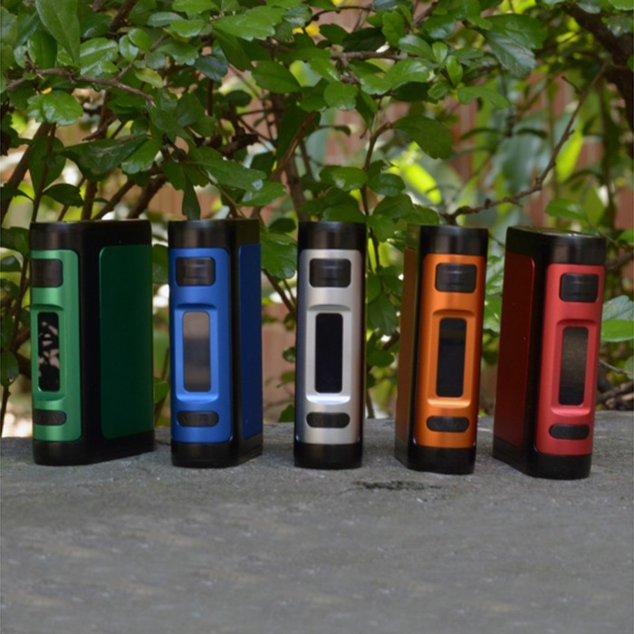 Original Wotofo Lush 150W TC Box Mod Supporting 2pcs 18650 Batteries with 100 - 300C / 212 - 572F / Multiple Mode for E Cigarette