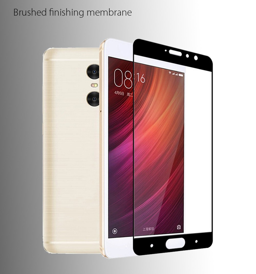 Tempered Glass Brushed Finishing Screen Protective Film for Xiaomi Redmi Pro 0.3mm 9H Full Cover Explosion-proof Membrane