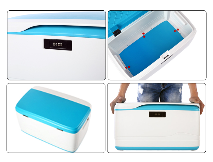 FORTUNE DRAGON Multifunctional Storage Box with Password Security Container