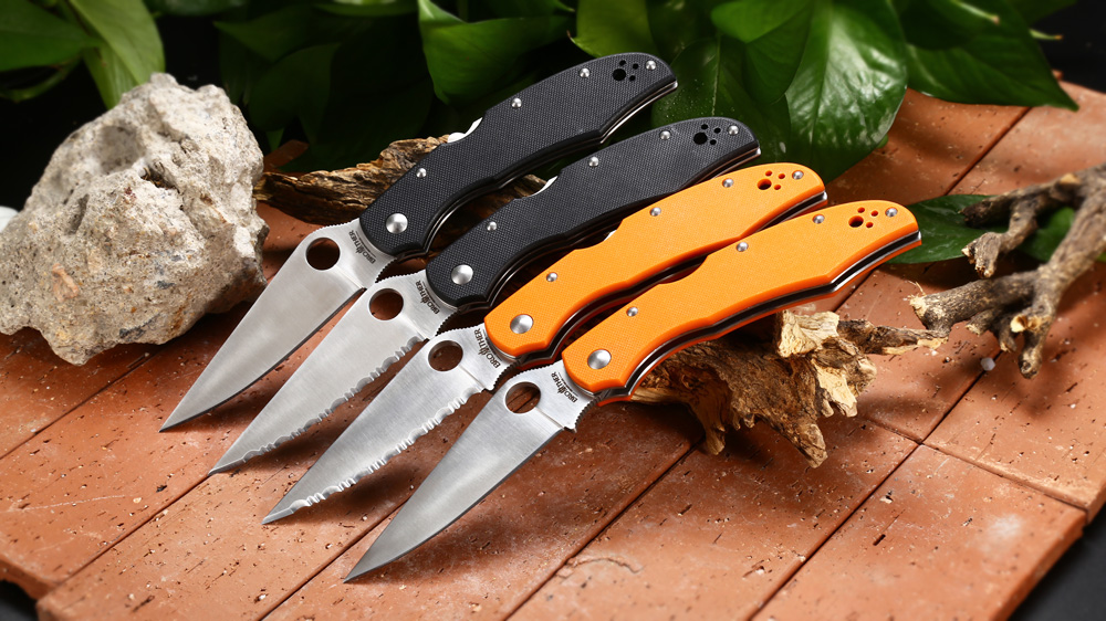 Brother 1605G Mid Lock Foldable Knife with G10 Handle