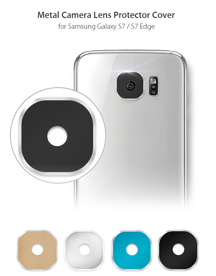 Hat - Prince Metal Camera Lens Protective Cover for Samsung Galaxy S7 / S7 Edge