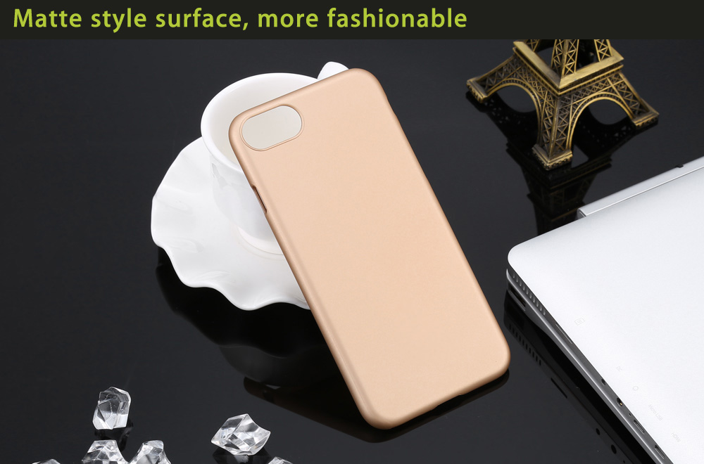 Matte Style PC Protective Mobile Cover Case for iPhone 7 Smooth Surface Shell