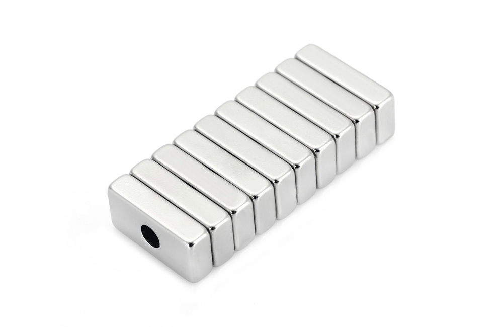 10pcs 20 x 10 x 5mm NdFeB Strong Hollow Cuboid Magnet Birthday DIY Intelligent Gift