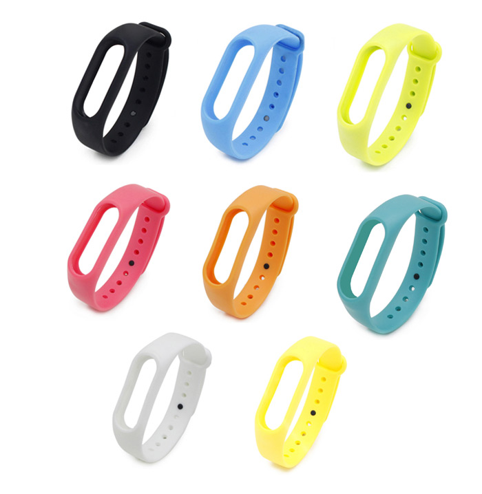 Silicone Watch Band for Xiaomi Miband 2