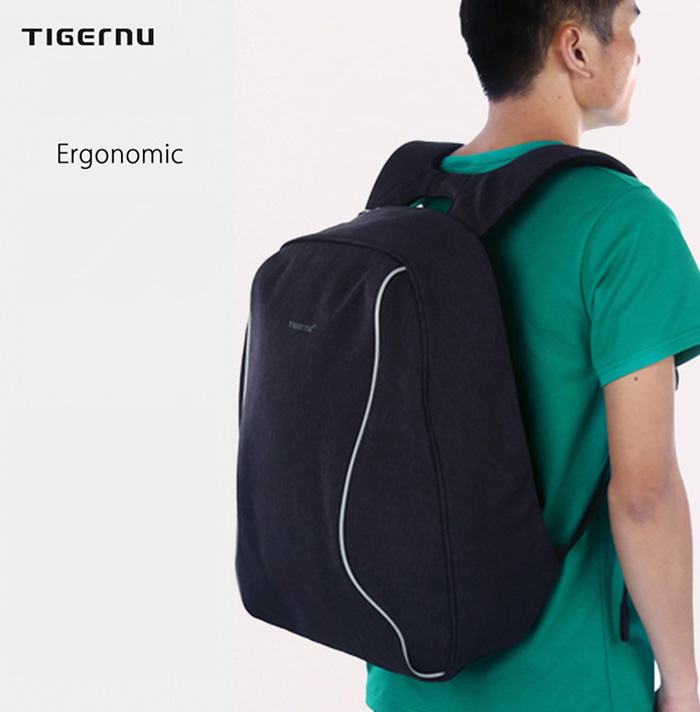 Tigernu T - B3188 - 14 14 inch Male Anti-theft Leisure Backpack for Outdoor Travel