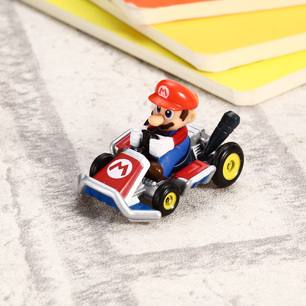 Alloy Cartoon Figure Pattern Truck Model Educational Toy for Children
