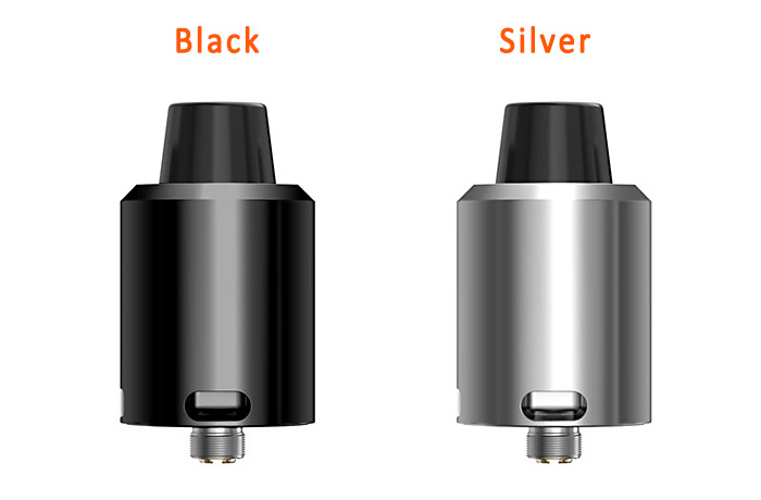 Geekvape Tsunami 24 RDA with Velocity Style Deck / 3 Types of Drip Tip E Cigarette Rebuildable Dripping Atomizer