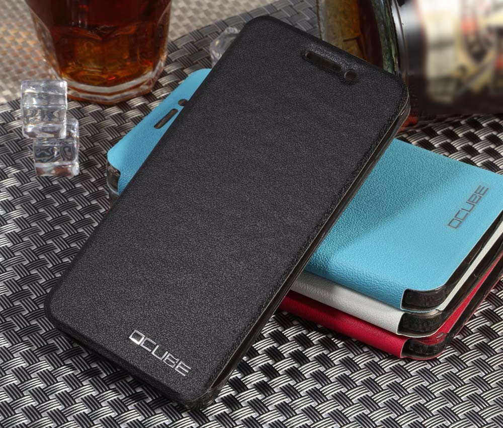 OCUBE PU Leather Full Body Phone Protective Case with Foldable Stand for UMI Super