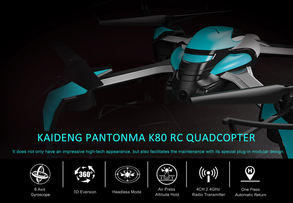 KAIDENG PANTONMA K80 2.4GHz 4CH 6 Axis Gyro Brushed Drone