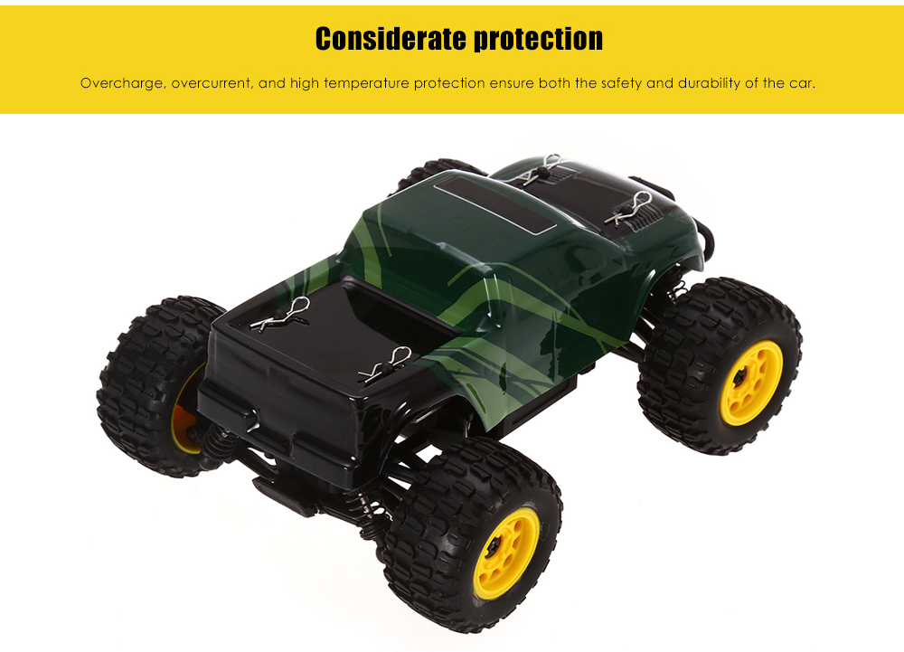 GPTOYS S608 26km/h 1:24 Full Proportional 2CH 2.4GHz 4WD Brushed RC Racing Car
