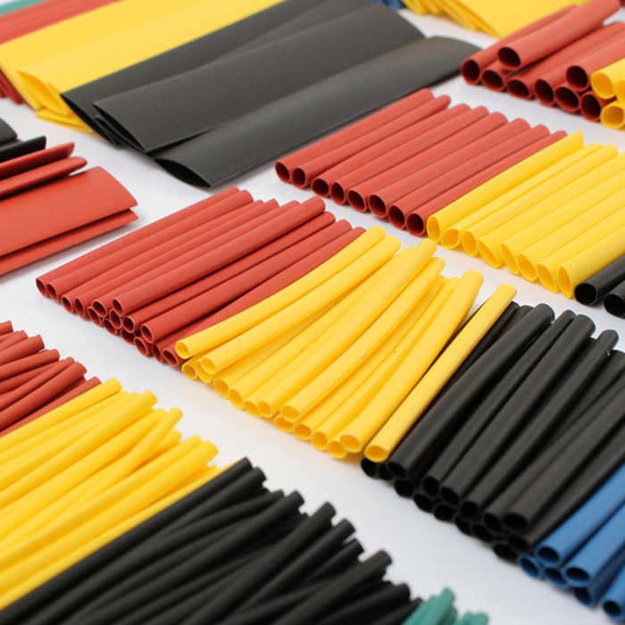328PCS Polyolefin Heat Shrink Tube Sleeving Set Multi-color