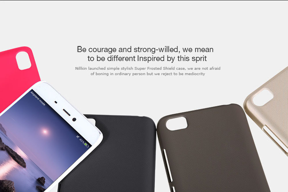 Nillkin Salient Point Dull Polish Protective Back Case for XiaoMi Mi5