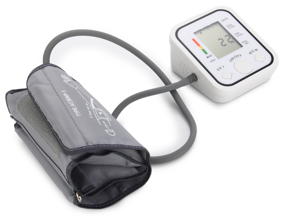 BP826 Automatic Arm Blood Pressure Monitor Measuring Tool