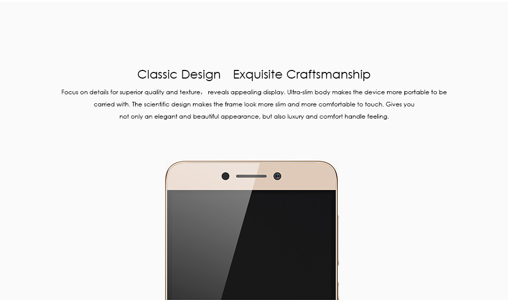 Coolpad Cool 1 Dual Android M 5.5 inch 4G Phablet MSM8976 Octa Core 1.8GHz 4GB RAM 64GB ROM 13.0MP Dual Rear Cameras Fingerprint Scanner Type-C
