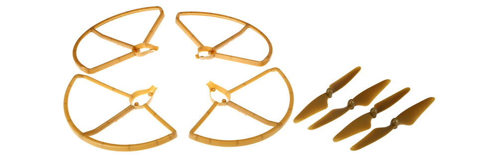 HUBSAN H501S - 01 Propeller Pack with Prop Guards for H501S H501C X4 Drone