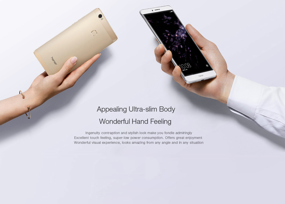 Huawei Honor Note 8 Android 6.0 6.6 inch 4G Phablet Kirin 955 Octa Core 2.5GHz 4GB RAM 32GB ROM Aomled Screen Fingerprint Scanner 13.0MP Rear Camera