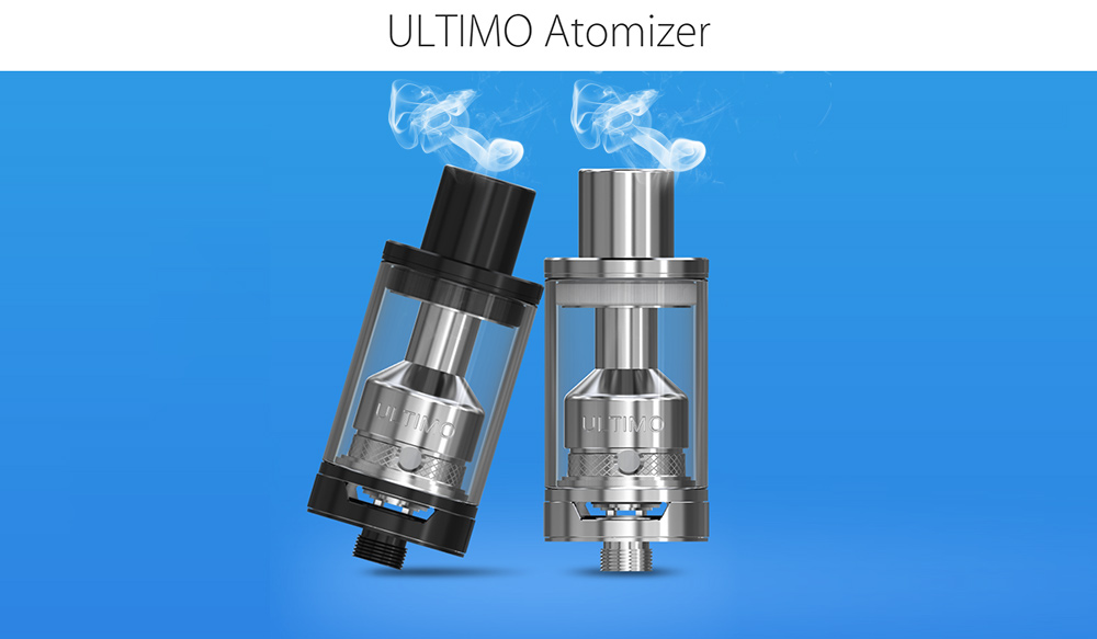 Original Joyetech Ultimo Tank Atomizer Clearomizer with 4ml Capacity / 0.5 ohm MG Ceramic / Clapton Coil / Top Filling for E Cigarette