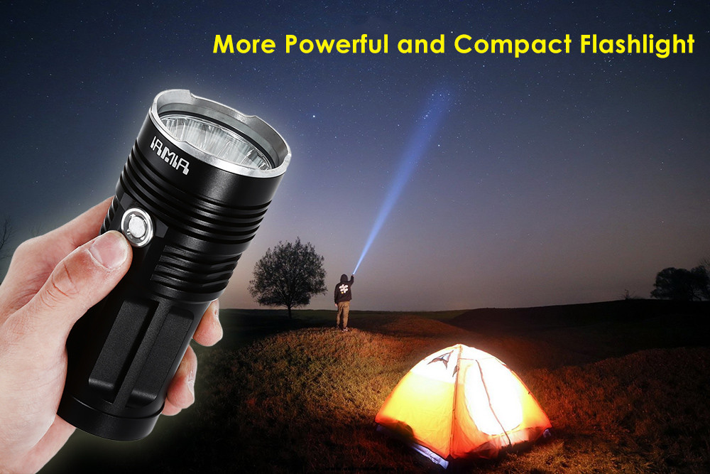 AIMAI C16L 11 x XML T6 2700Lm Compact LED Flashlight Searchlight