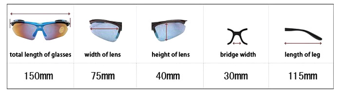 ROCKBROS Outdoor Sports Polarized Cycling Sun Glasses for Men / Women Riding Rowing Necessary