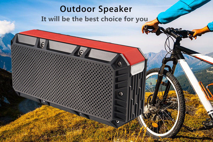 Old Shark V2 Wireless Bluetooth 4.0 Outdoor Speaker HiFi MP3 Player Support Hands-free Call