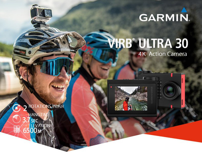 GARMIN VIRB Ultra 30 4K Action Camera WIFI 12MP 1.75 inch LCD Display Slow Motion Mode