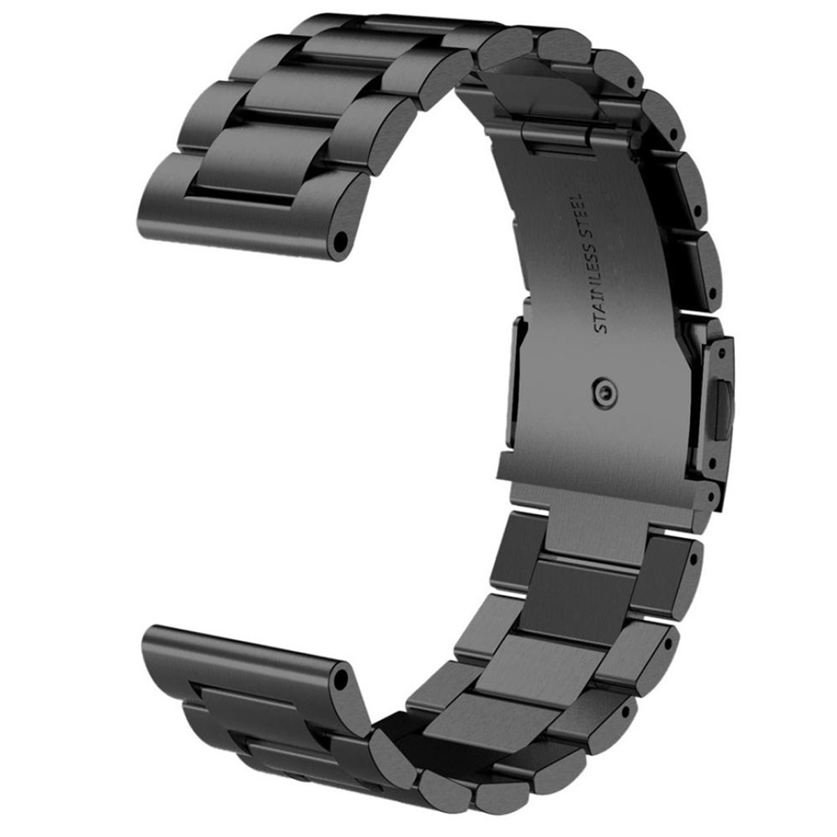 Turtle Type Folding Clasp with Safety Band for Garmin Fenix 3