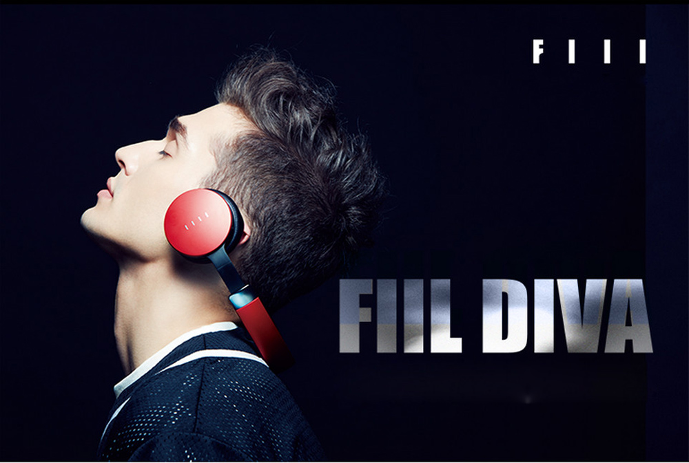 FIIL DIVA HiFi Music Wireless Bluetooth 4.1 Headphones MAF ANC Noise Canceling Touch Control