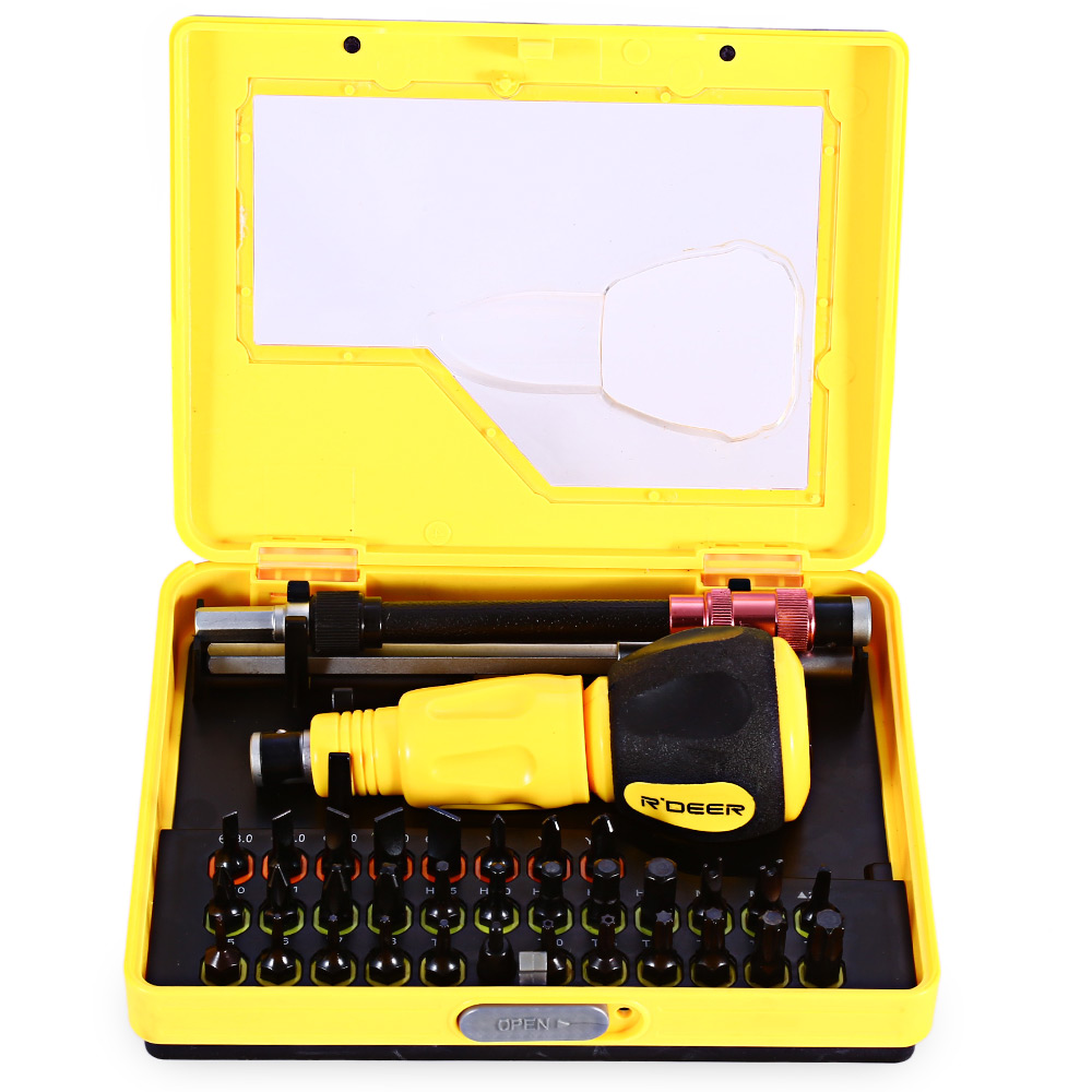 ROBUST DEER 34 in 1 Multi-use Screwdriver Set Hand Tool