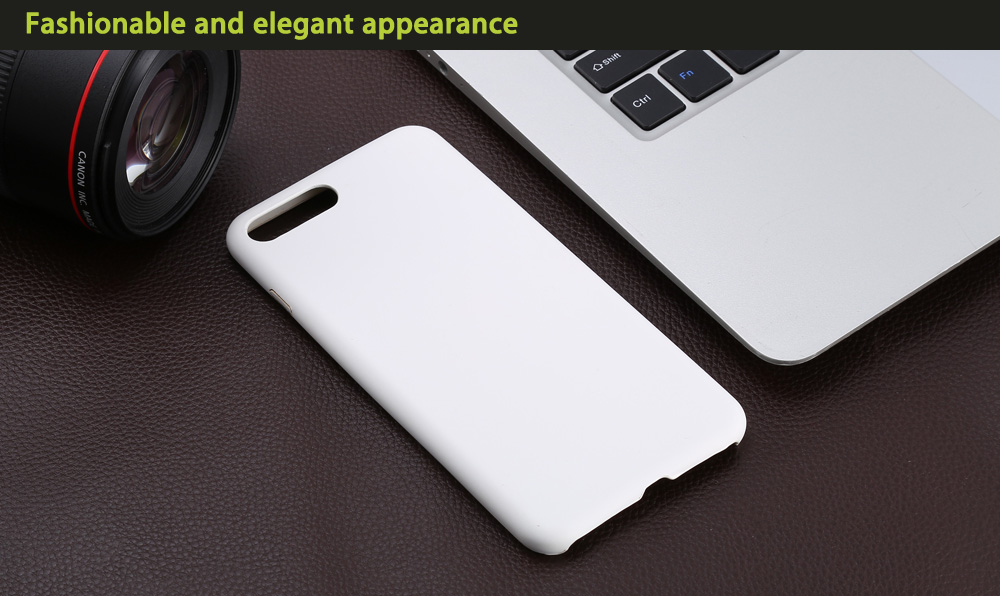 PU Leather Ultra-thin Matte Surface Protective Phone Back Case for iPhone 7 Plus