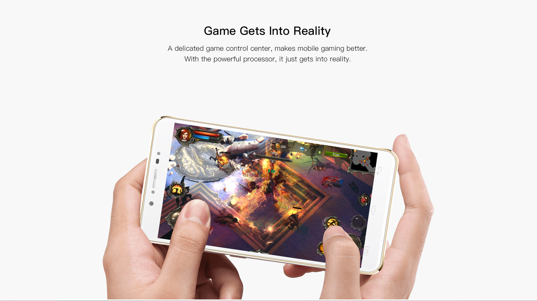 Doogee F7 Android 6.0 5.5 inch 4G Phablet Helio X20 2.3GHz Deca Core 3GB RAM 32GB ROM 13.0MP Rear Camera Bluetooth 4.0 Smart Gestures