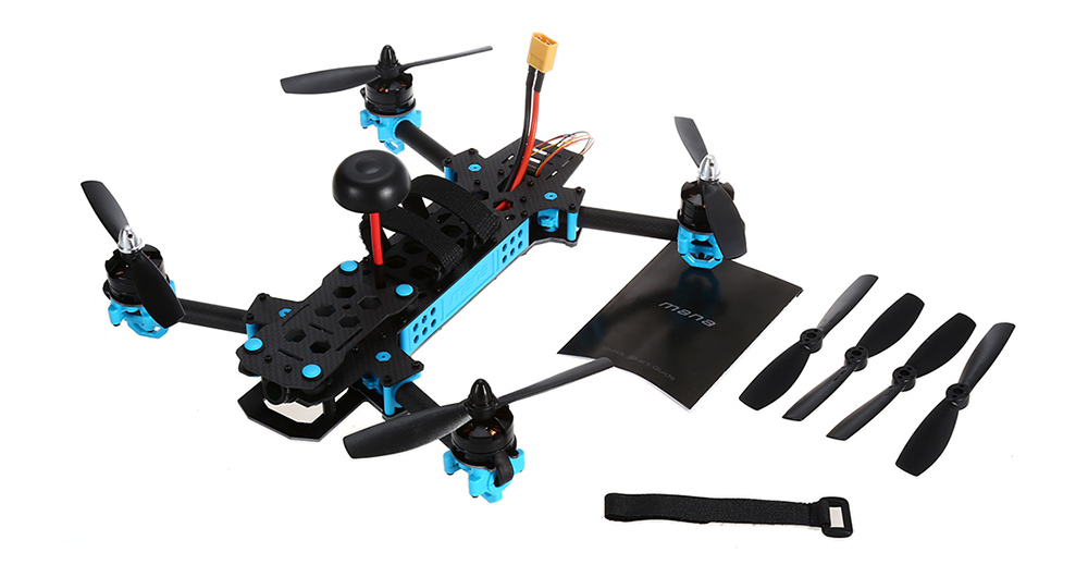 M285 285mm FPV Racing Drone PNP 5.8G 700TVL Camera / F3 FC Integrated with MWOSD / Foldable Arms