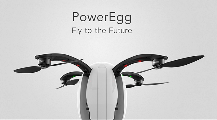 PowerVision PowerEgg 4K HD Camera 2.4GHz RC Drone with GPS Beidou Optical Positioning Gesture Recognition Control