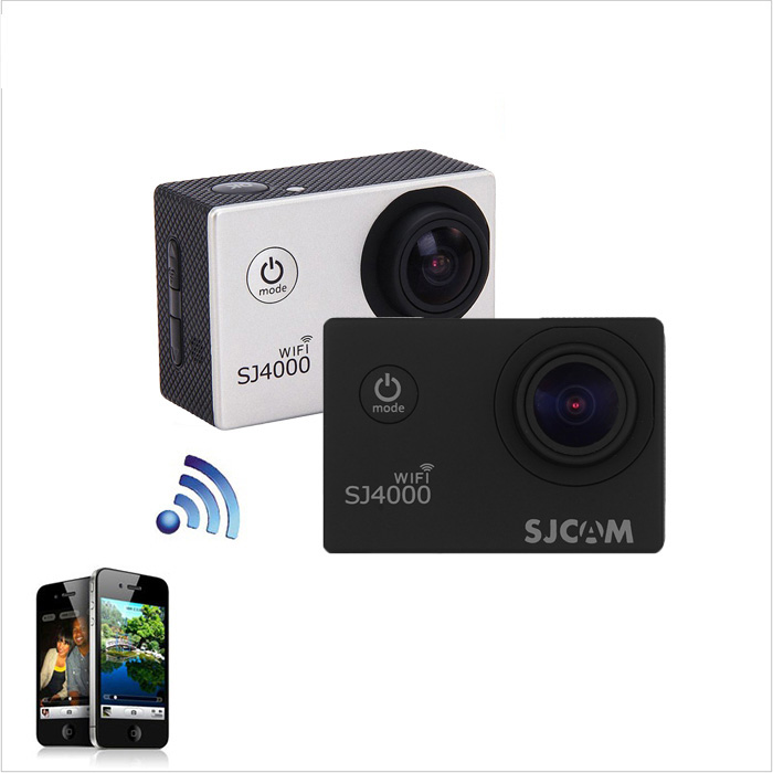 SJCAM SJ4000 WiFi 1080P FHD Sports DV Camcorder 153.6 Degree Wide Angle Lens IP68 Waterproof Car Video Recorder