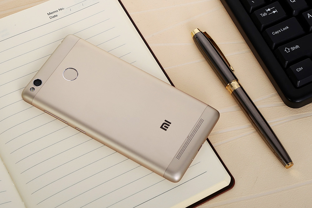 Xiaomi Redmi 3S International Version Android 6.0 5.0 inch 4G Smartphone Qualcomm Snapdragon 430 Octa Core 1.4GHz 3GB RAM 32GB ROM Fingerprint Scanner