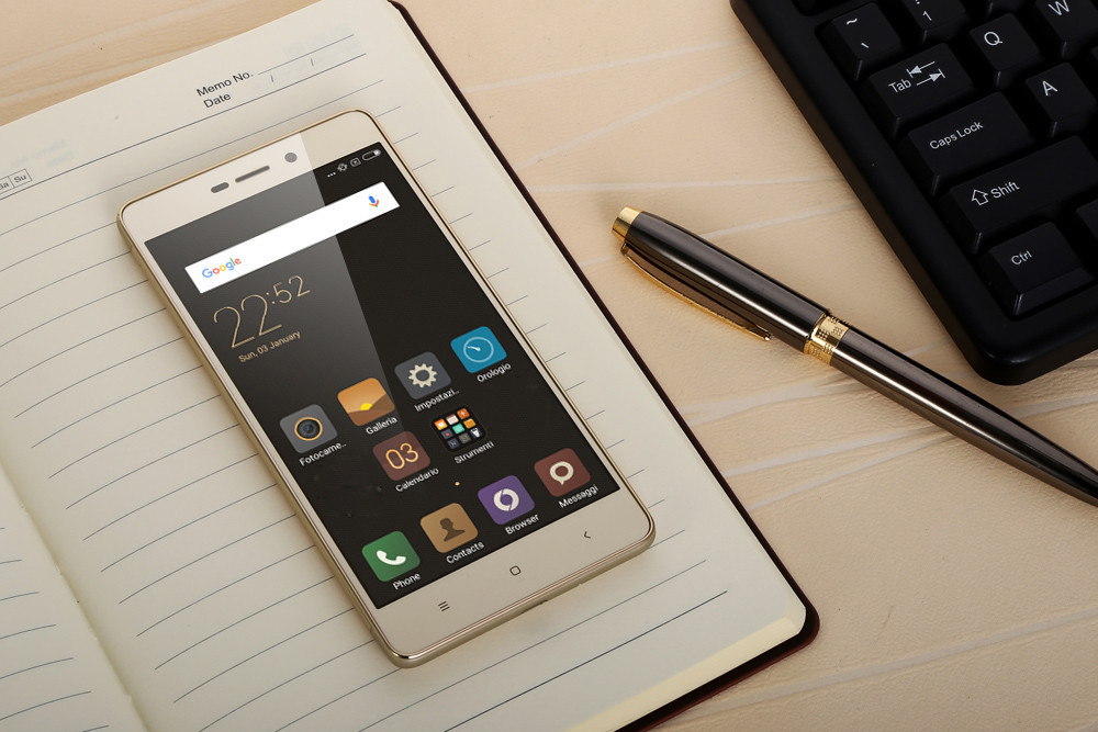 Xiaomi Redmi 3S Android 6.0 5.0 inch 4G Smartphone Qualcomm Snapdragon 430 Octa Core 1.4GHz 2GB RAM 16GB ROM Fingerprint Scanner